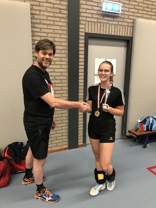 Iris Hakvoort: jeugdspeelster van het seizoen 2017/2018